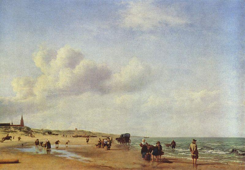 Het_Strand_van_Scheveningen,_Adriaen_van_de_Velde_(1658)