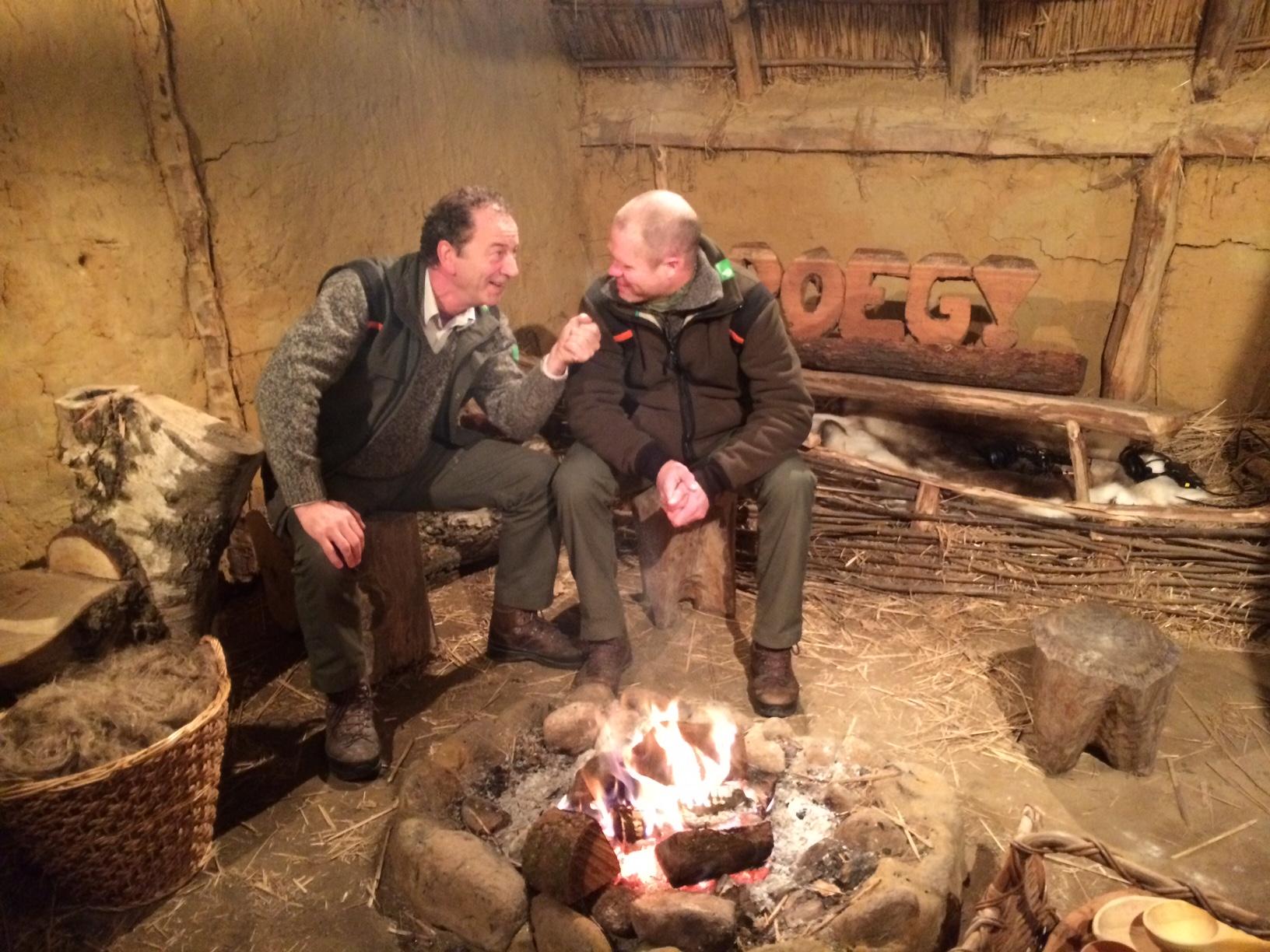 Evert Thomas neemt even de rol van presentator Joris Barske over en ondervraagt Aaldrik Pot.