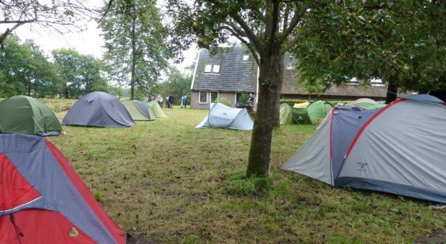 tijdelijke camping SIW
