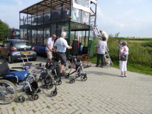 De oude Veenland Express is volop gebruikt deze zomer!
