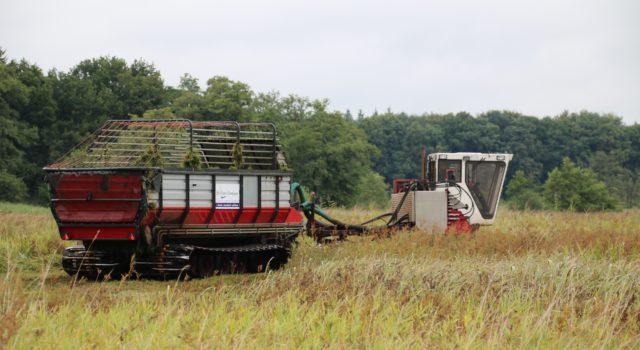 Rupsvoertuig met laderwagen
