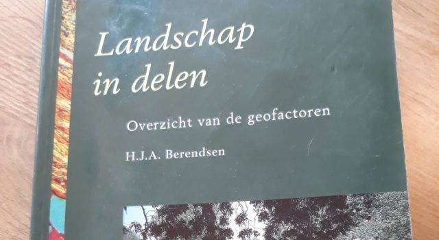 Boek: Landschap in delen