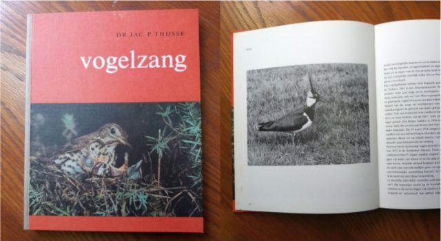 Het Verkade-album Vogelzang cover en binnenkant.
