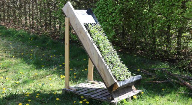 Proefopstelling dakbedekking nieuwbouw Noordsche Veld