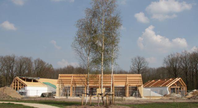 Nieuwbouw nabij Noordsche Veld in de Kop van Drenthe