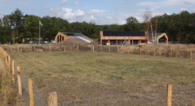 Nieuwbouw Natuurplaats Donderboerkamp aug 2019