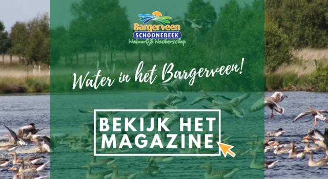 Bekijk het magazine Water in het Bargerveen