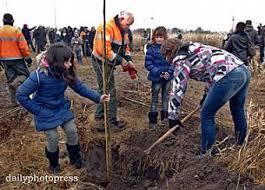 bomen planten kinderen