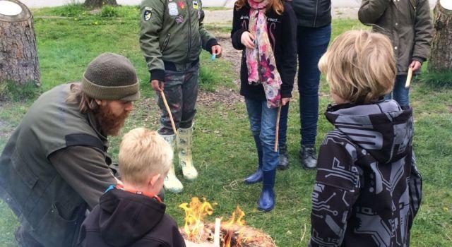 vuur maken wildernisdag