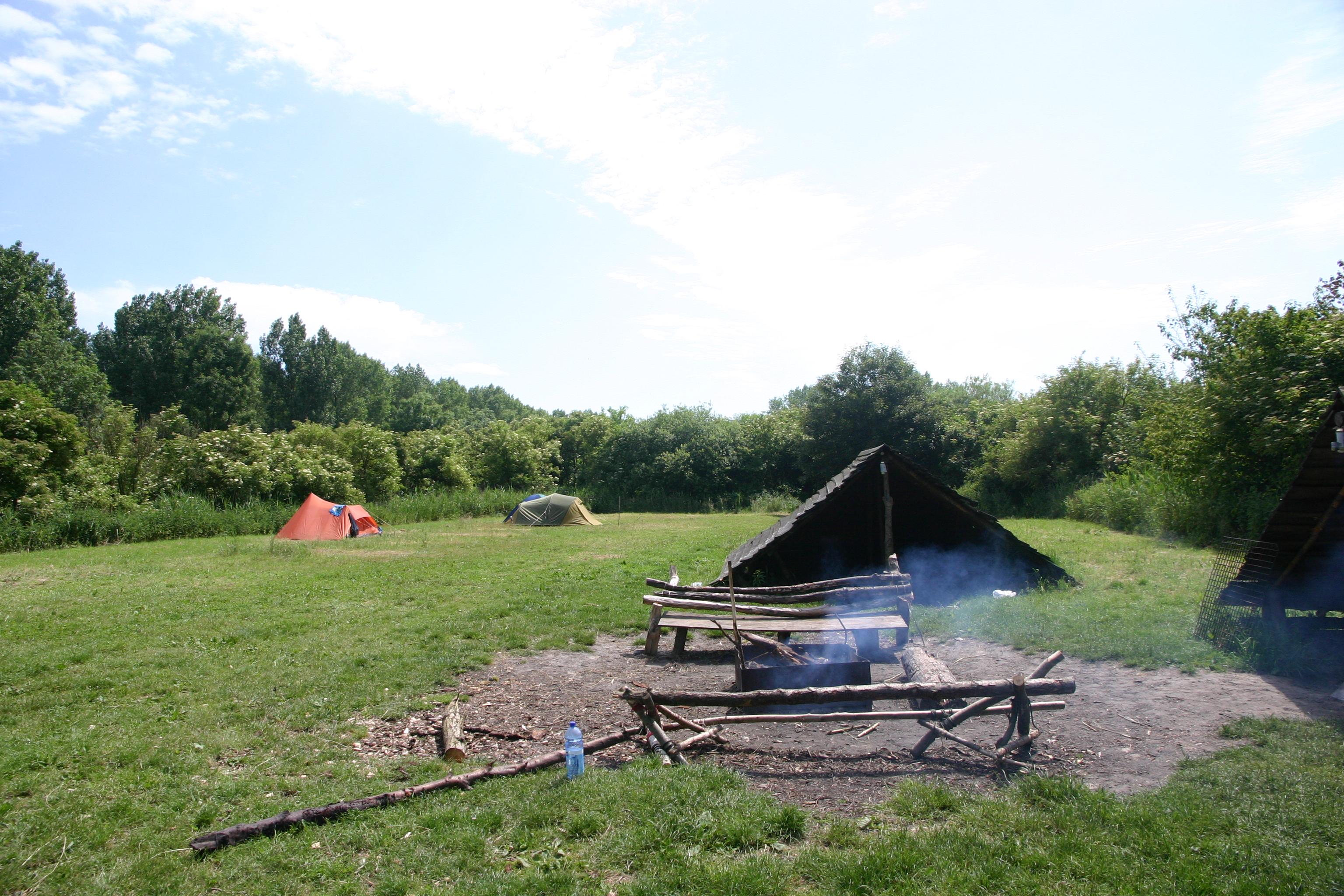 De Campanula, een hobbitheuvel met een vuurtje