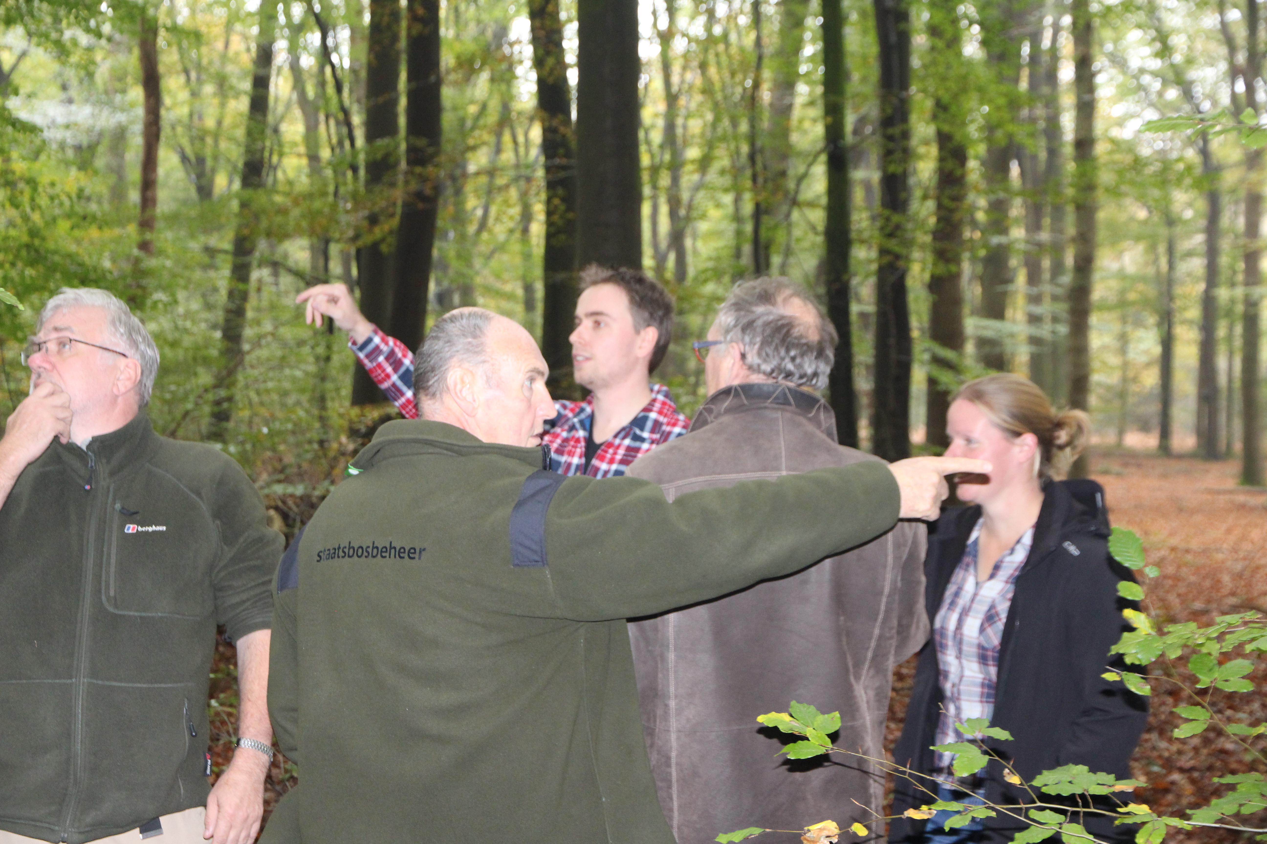 Het staatsbosbeheerteam heeft een duidelijke koers