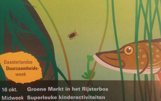 De poster van de Gaasterlandse Natuurweek!