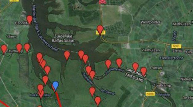 otterwaarnemingen Lauwersmeer