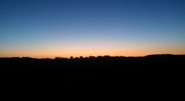Lauwersmeer, laatste licht