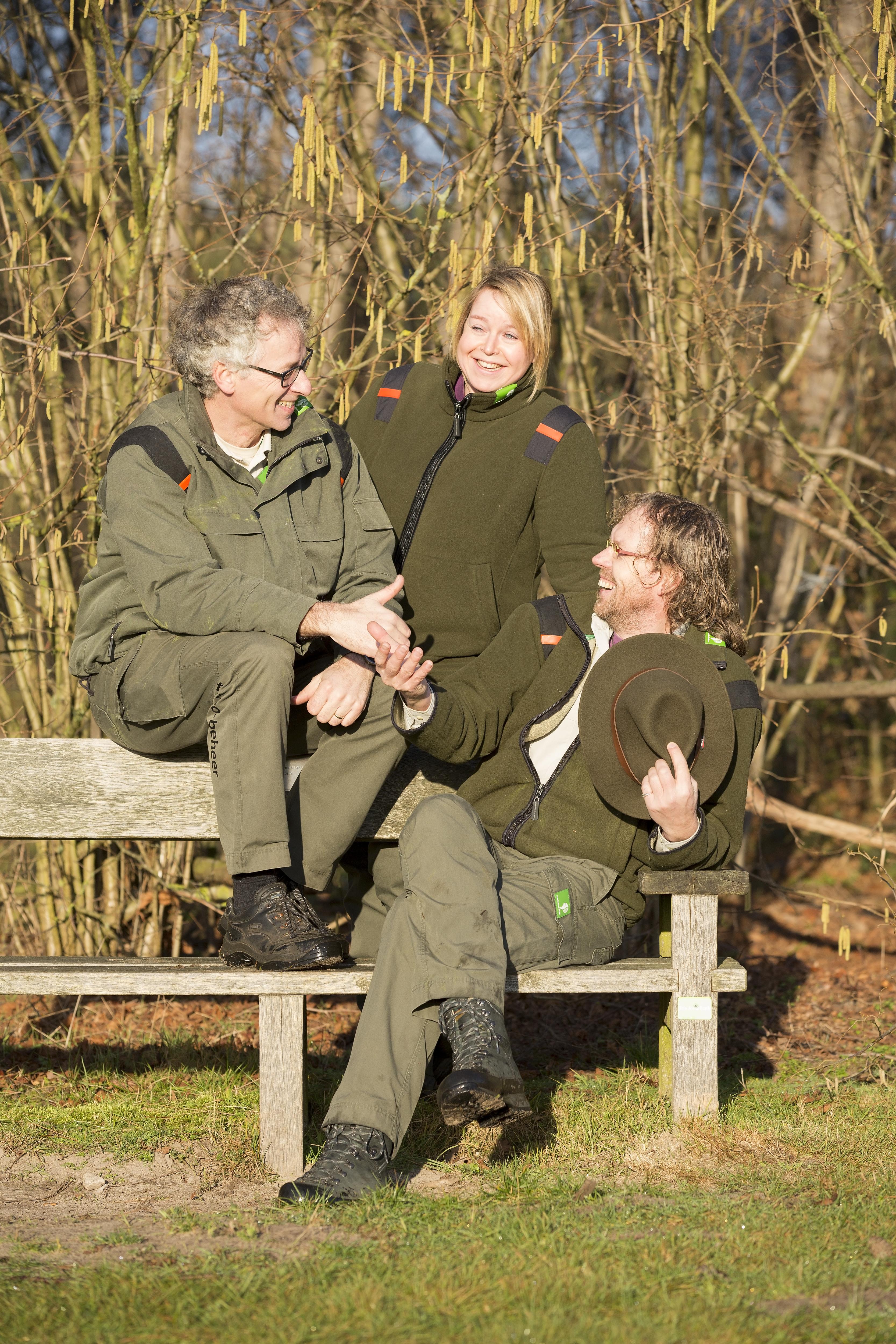 Van links naar rechts: Andy Liebrand, Carla Hanssen en Robbert Ouwerkerk