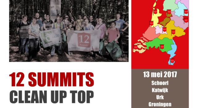 12 summits poster Noord-Holland