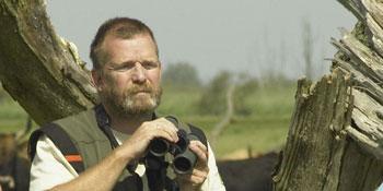 Hans Breeveld, boswachter van Staatsbosbeheer in de Oostvaardersplassen