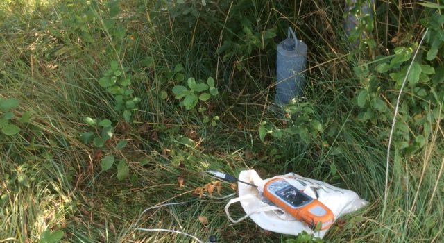 peilbuis voor grondwater Luttenbergerven