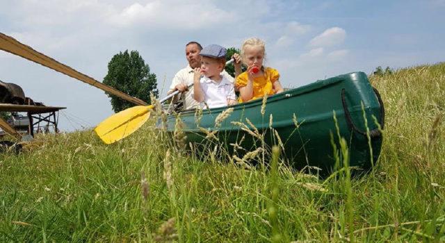 kano op het droge