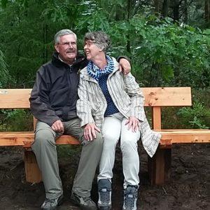 Aat de Jonge en echtgenote