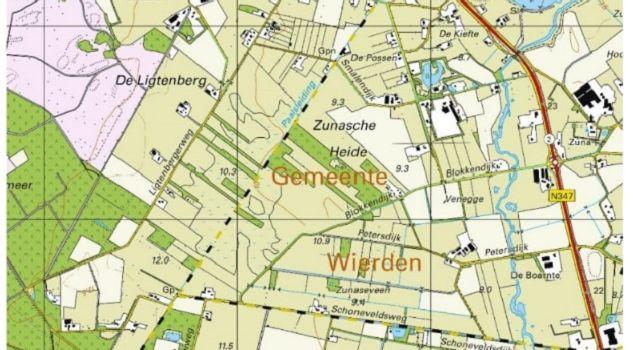 Situatie Zunasche Heide 2019