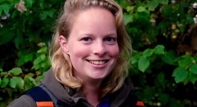 Boswachter Lydie van Santen