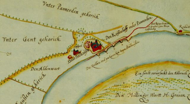Kasteel Hulhuizen in 1637