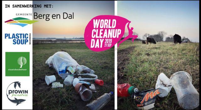 World Cleanup Day Millingerwaard
