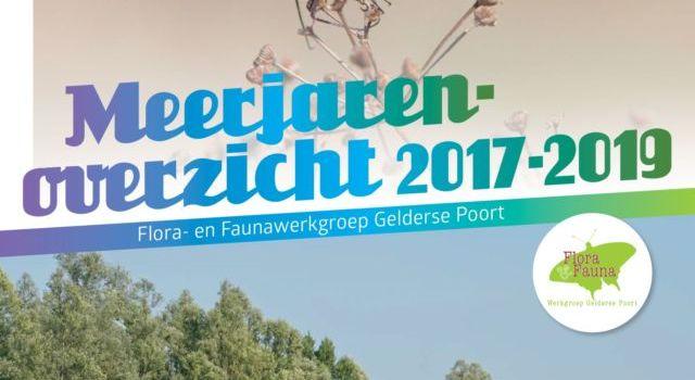 Meerjarenoverzicht 2017-2019, Flora en Faunawerkgroep Gelderse poort