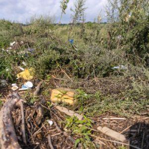 Achtergebleven afval