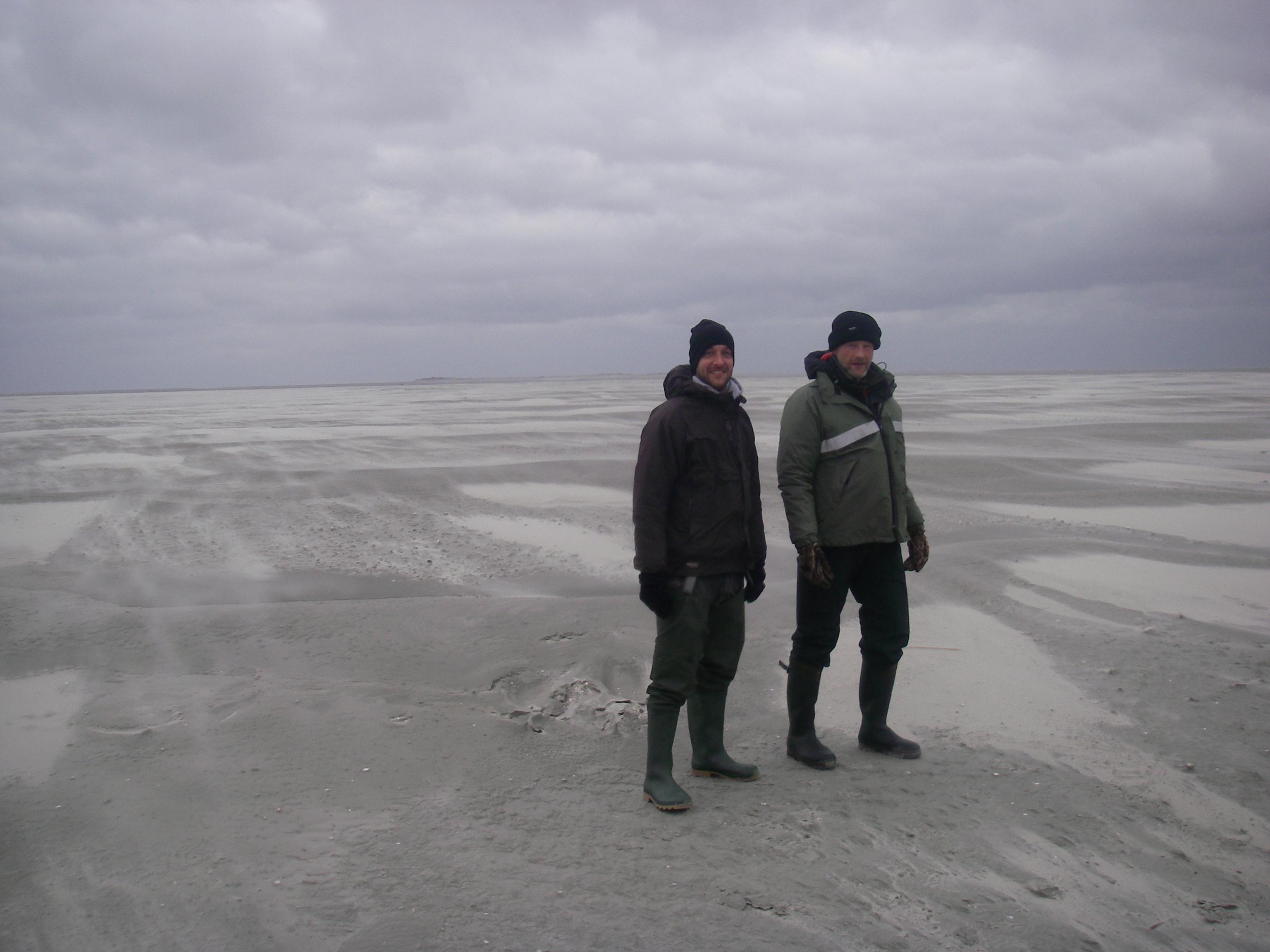Vogelwachters Tim en Henk