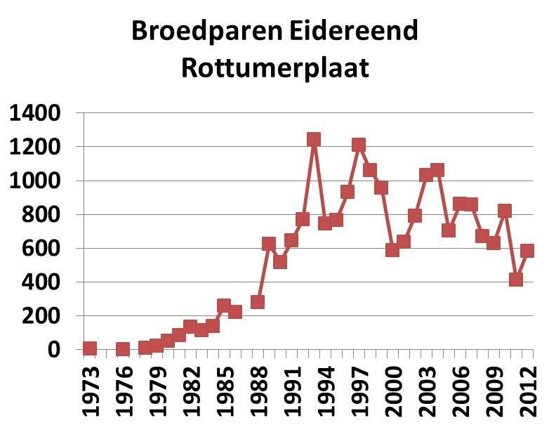 grafiek.eiders Plaat 2013