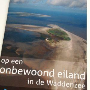 De brochure Onbewoonde eilanden