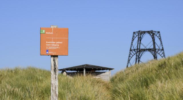 Rottumeroog is een permanent gesloten natuurgebied. Met de Expeditie mag je er tóch op. Foto: Henk Postma
