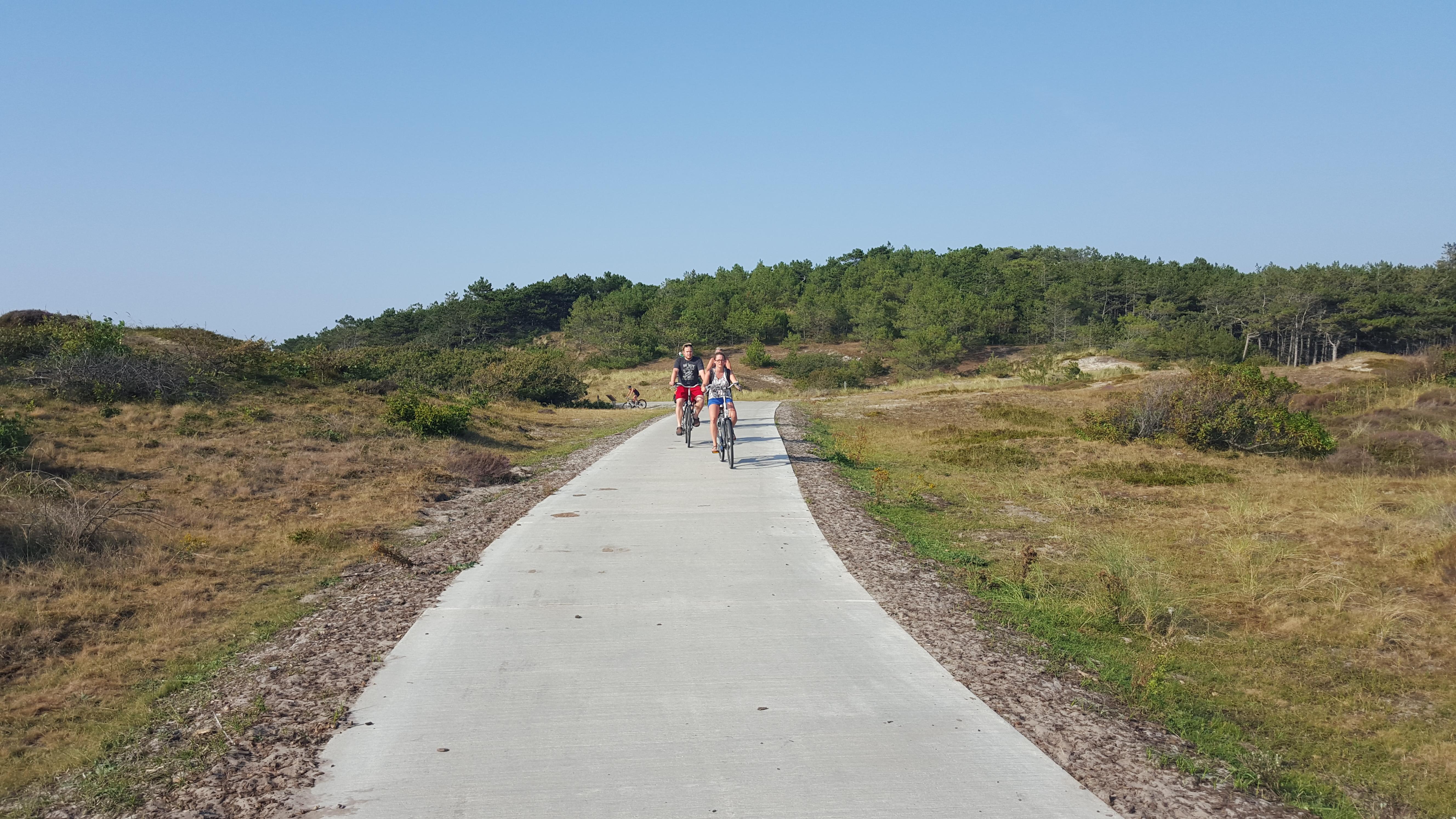 Eindresultaat herstel fietspaden. (Op foto hersteld fietspad in 2014)