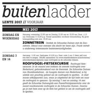 Buitenladder mei 2017