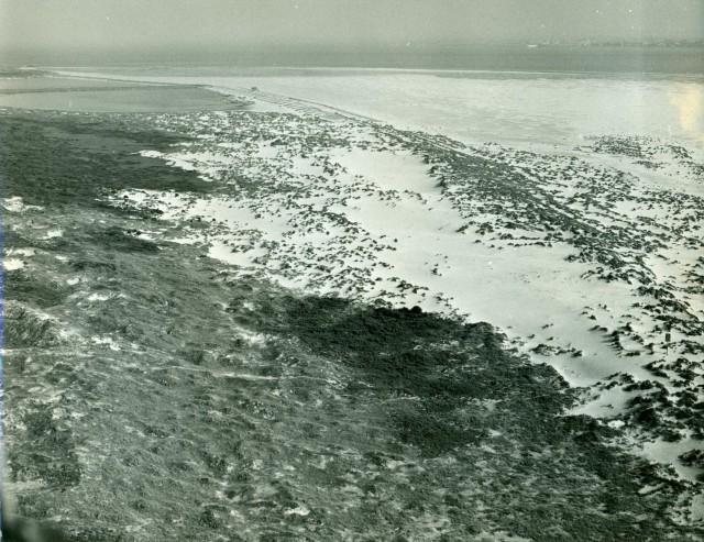 Al deels verstoven Kelderhuispolder en Horspolders in 1962/64