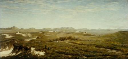 Schilderij P.J. Boxel, foto  Pieter de Vries Texel