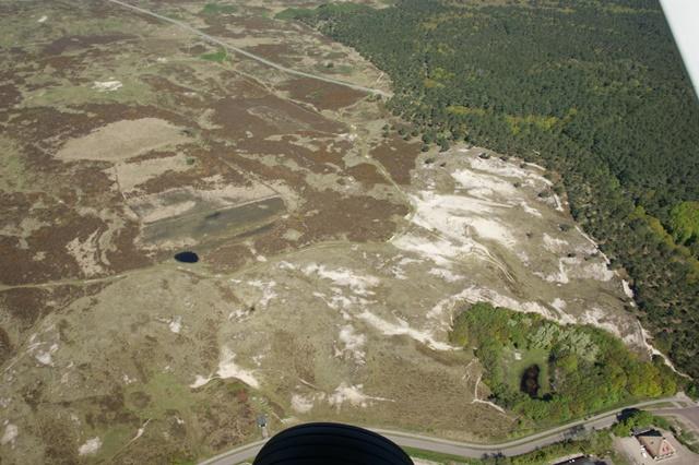 duinen met voldoende stuifkuilen