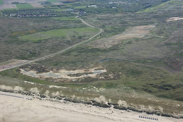 Bunkervallei, Achtbunder en op de achtergrond de Groene Hoek