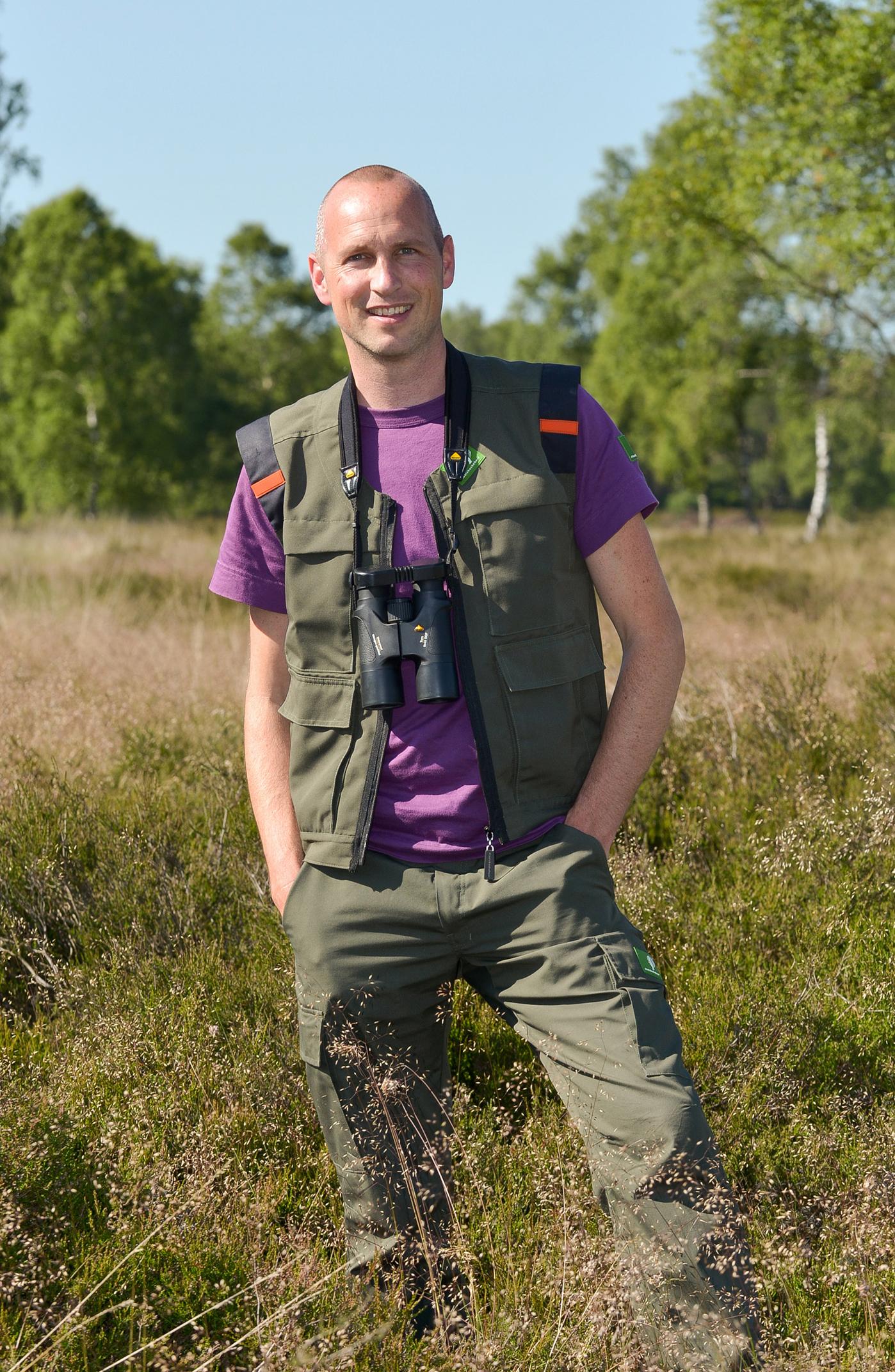 Laurens Jansen, boswachter Veluwe Midden