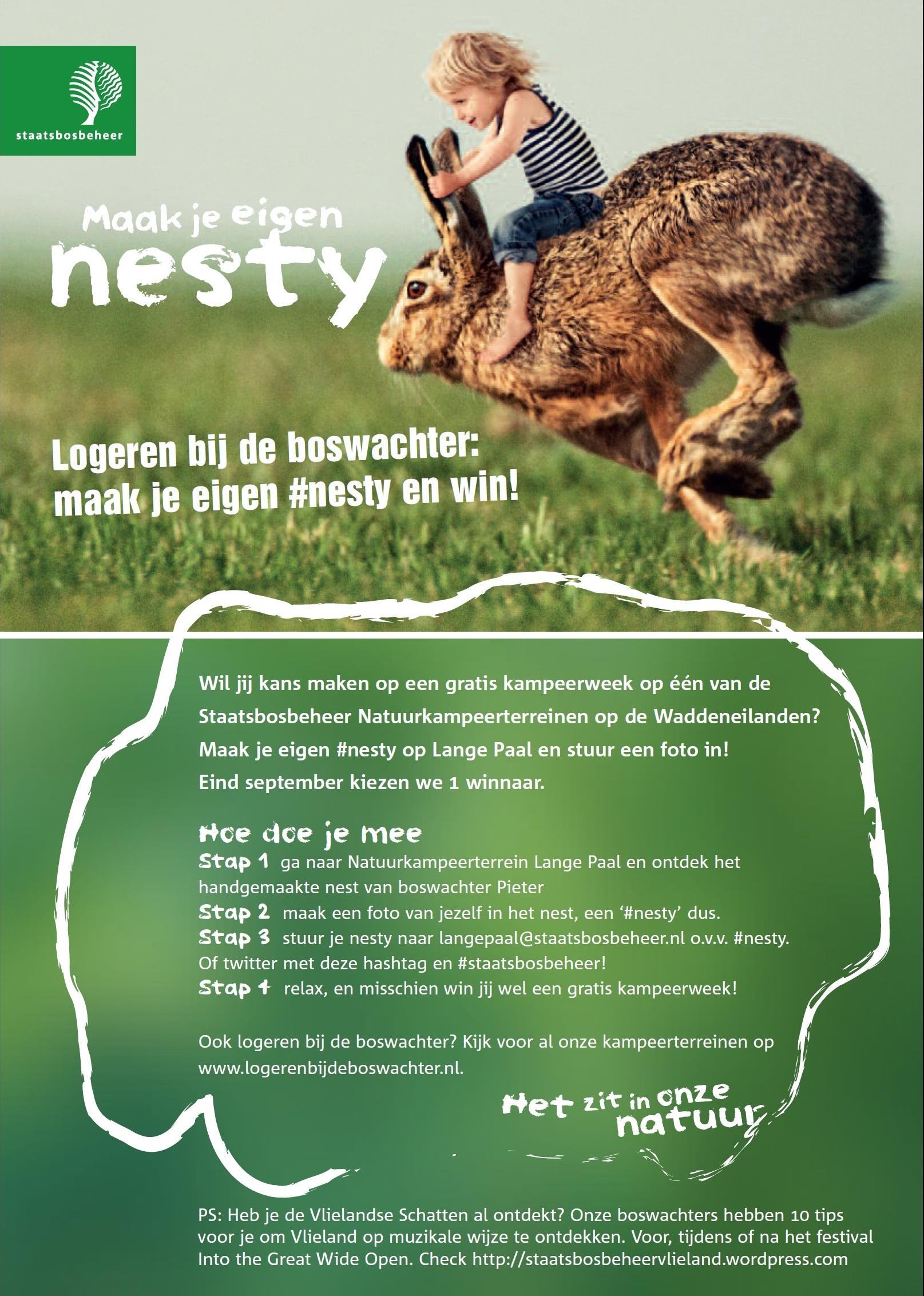 Doe mee met onze #nesty actie!