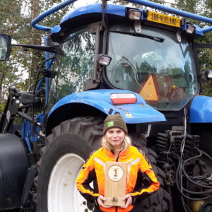 Amanda Lijnema terecht kampioen