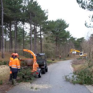 werkzaamheden Kampweg