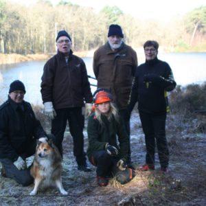 vrijwilligers staatsbosbeheer Vlieland