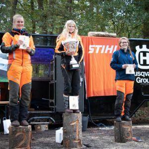Nederlands kampioen bosarbeid