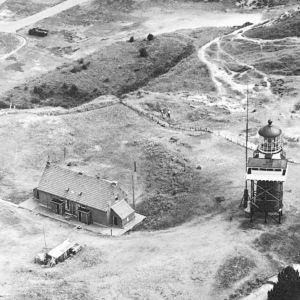 luchtopname vuurboetsduin 1960. coll. Dirk Bruinl