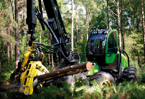 Harvester Foto: www.deere.com