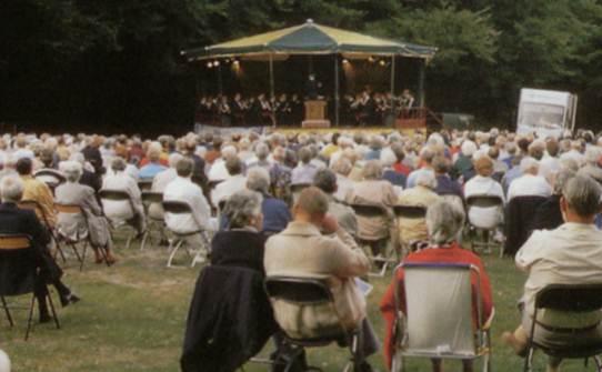 Historische klassieke concerten in het Haagse Bos