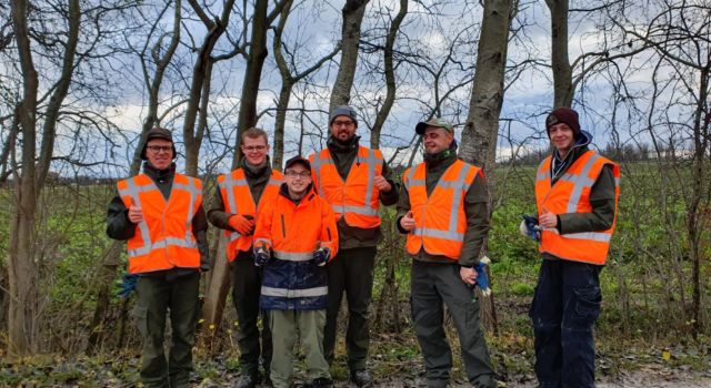 Het Staatsbosbeheer team Binnenwerk